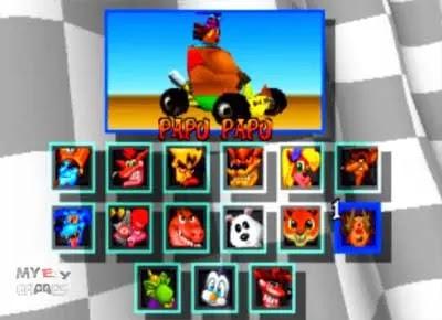 شرح لعبة Crash Team Racing مع جميع الشفرات