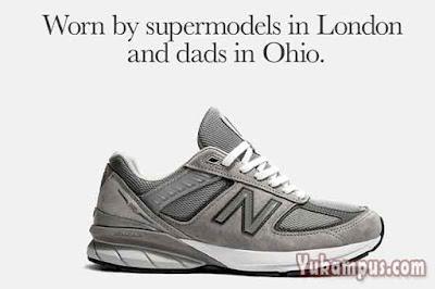 iklan sepatu new balance