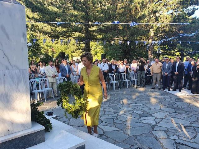Στη Σκουληκαριά Άρτας για τα Καραϊσκάκεια 2020 η Όλγα Γεροβασίλη