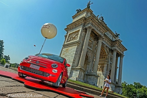 Fiat 500 2015 Birthday Celebration