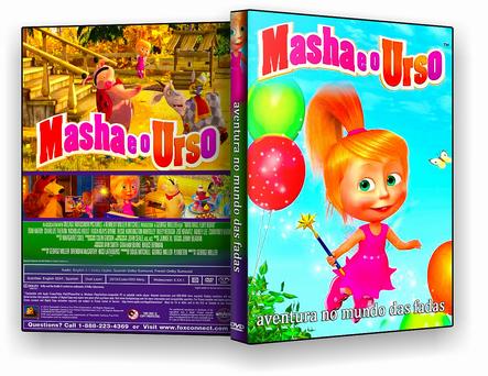 DVD Masha e o urso - aventura no mundo das fadas - ISO