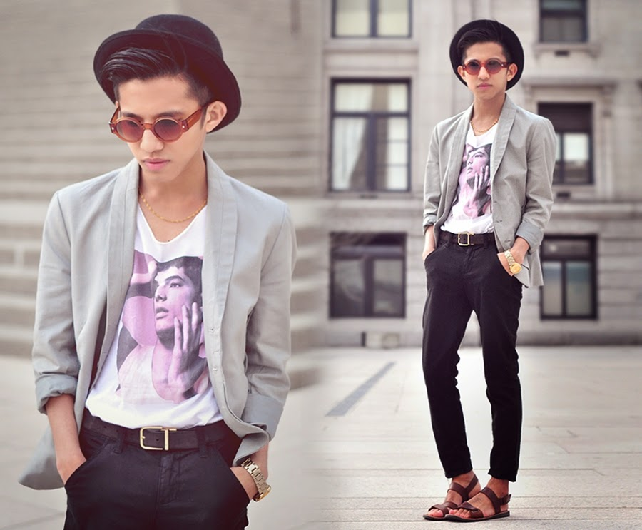 vintage style boy men's fashion blog