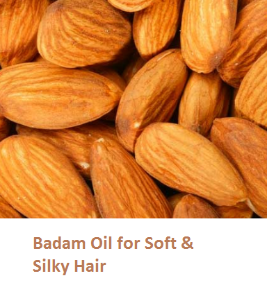 Almonds Health Benefits Badam Oil for Soft & Silky Hair