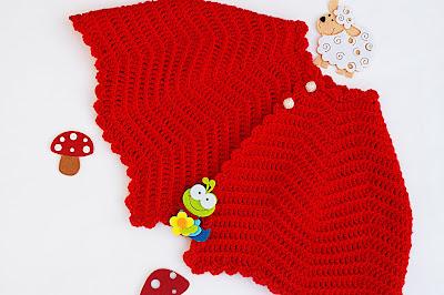 4 - Crochet Imagen Capita a crochet navideña muy facil y rapido por Majovel Crochet