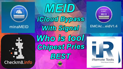 MEID iCloud Bypass With Signal Who is Best & Chipest Prices.