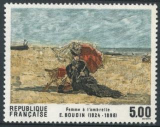 France 1987 Eugene Boudin
