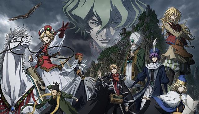 mejores animes sobre medio oriente