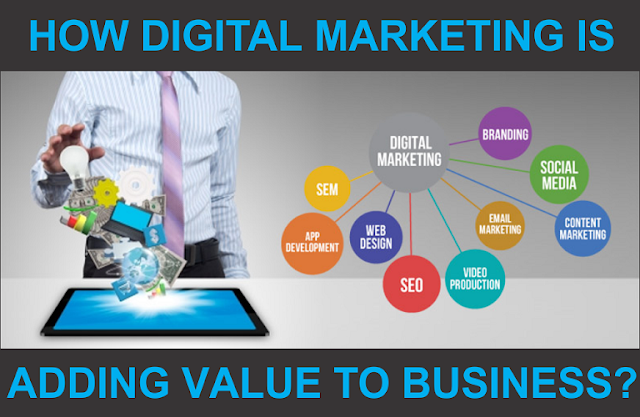 How digital marketing is adding value to business?