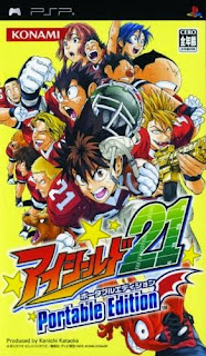 Eyeshield 21: Portable Edition JAP PSP GAME