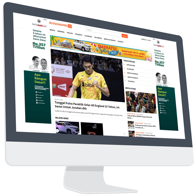 BloggingPro Wordpress Theme