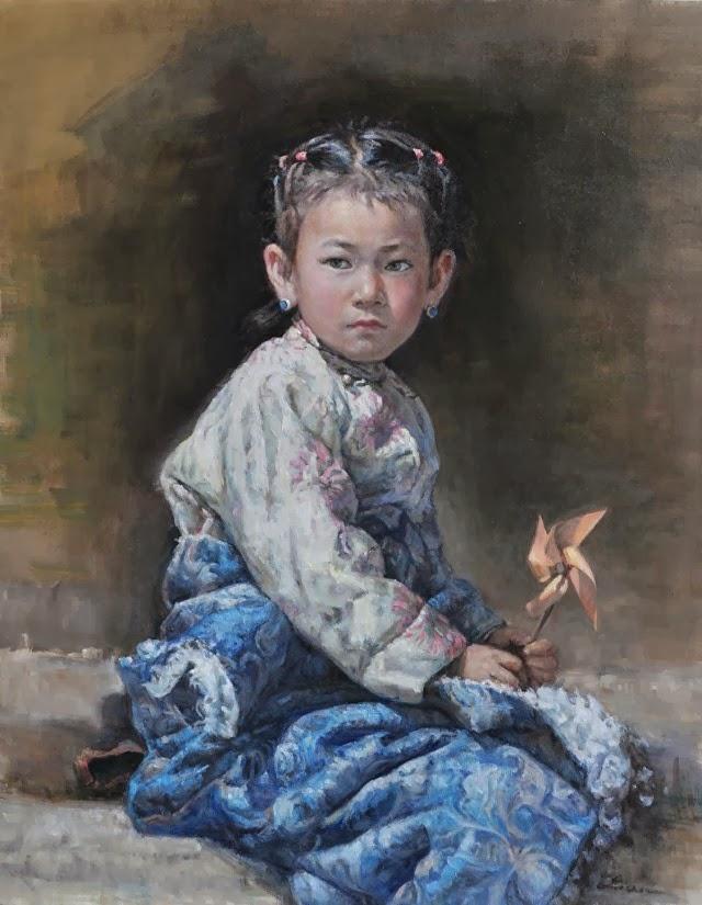 Китайский художник. Cheng Lian