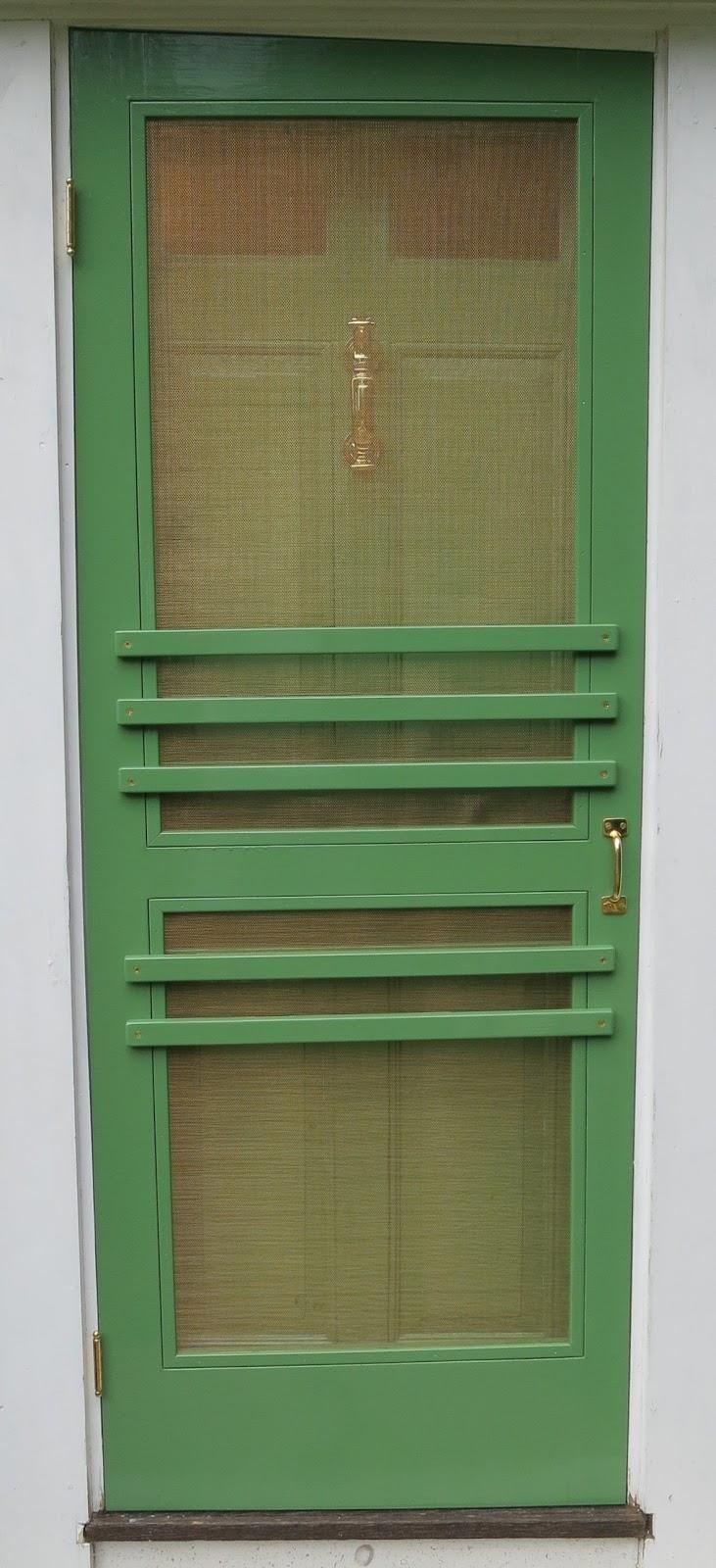 An Old Farm Custom Building A Sceen Door