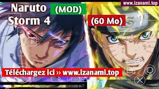 Télécharger et installer Naruto Shippuden Ultimate Ninja Storm 4 MOD PPSSPP pour le dernier Android