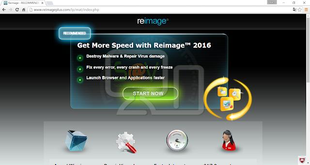 ReimagePlus.com pop-ups