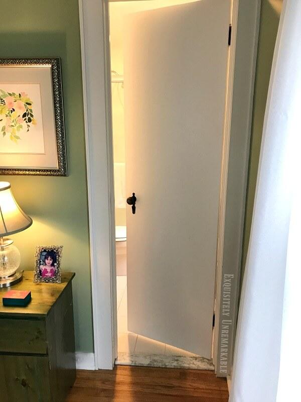 Cottage Style Bathroom Door
