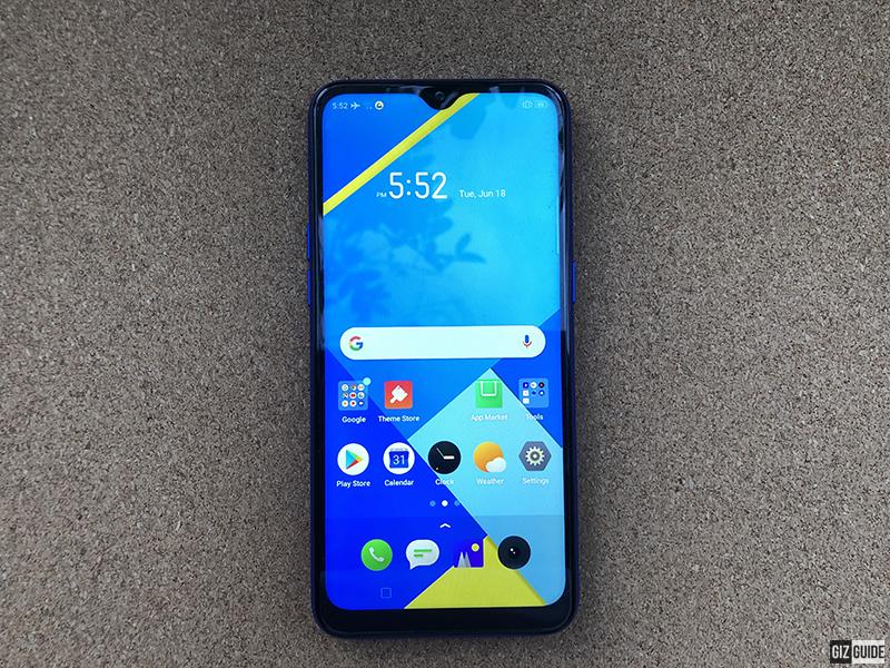 6.1-inch display
