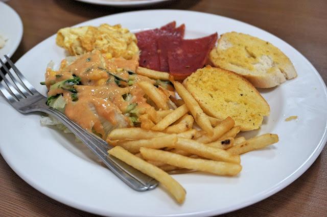 台湾早餐美式总汇套餐