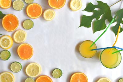 قشر الليمون أو البرتقال