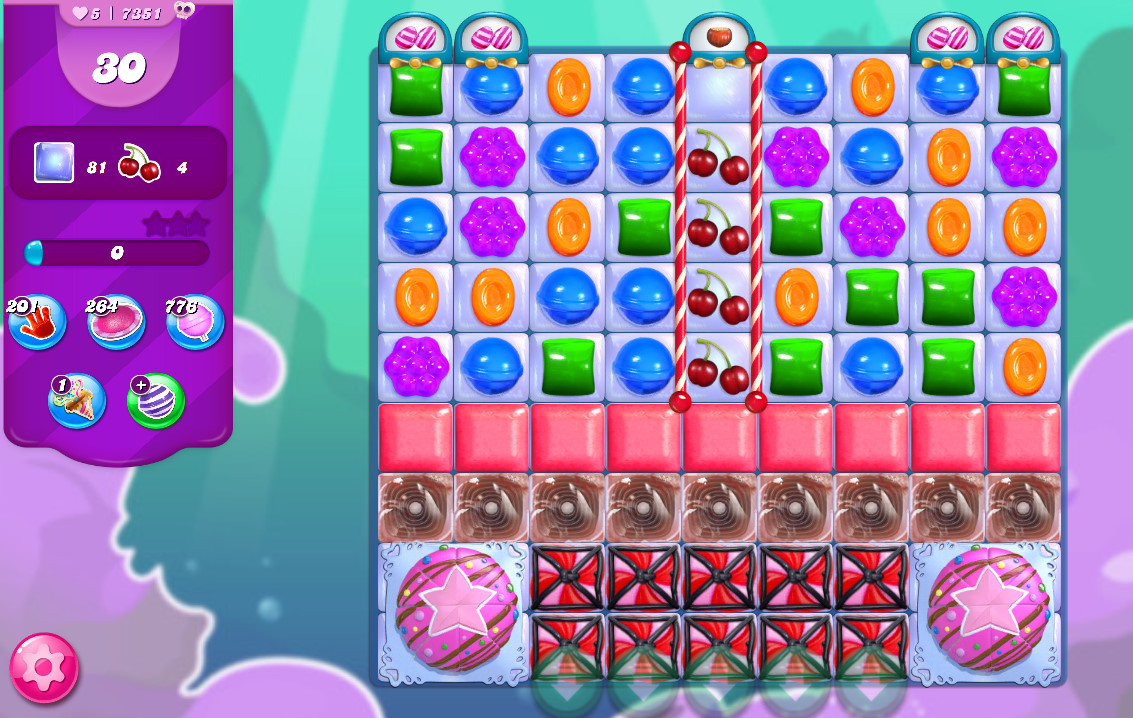 Candy Crush Saga level 7351