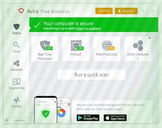 Avira Free antivirus best free antivirus software