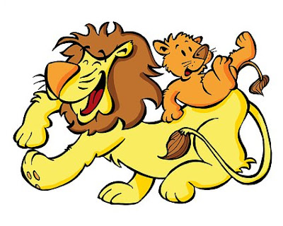 Sher ki Kahani:- Lion Hindi story with moral where a lion is playing with his cub