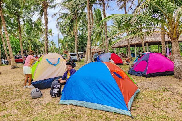 Calilayan Cove Camping Area - Unisan Tour