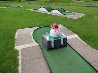 Crazy Golf course in Beacon Park, Lichfield