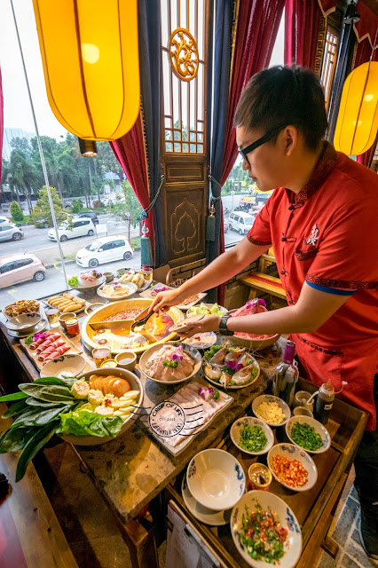 Xiao Long Kan hotpot 小龙坎老火锅 Penang