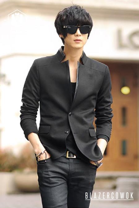 blazer cowok blazercowok.com jaket korean jas pria sk33 c