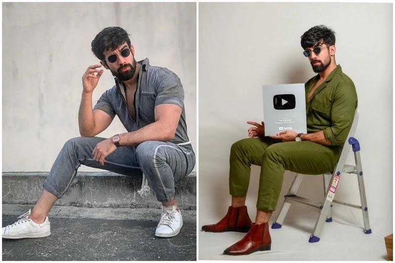Shoes with men's jumpsuit.