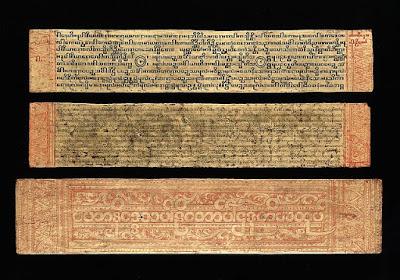 a buddhist manuscript picture