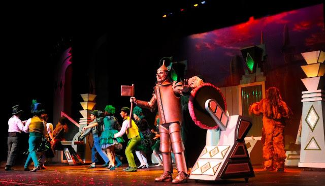 O Mágico de Oz - O Musical, estreia dia 14 de abril no Teatro Bradesco