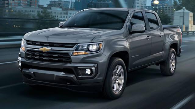 Nova Chevrolet S-10 (Colorado) 2021