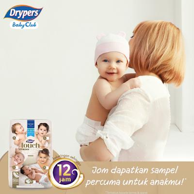 Sampel Percuma Drypers Baby Club Malaysia