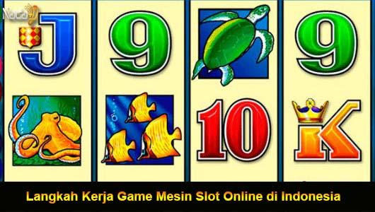 Langkah Kerja Game Mesin Slot Online di Indonesia