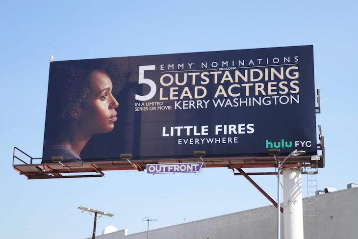 Little Fires Everywhere Emmy nominee billboard