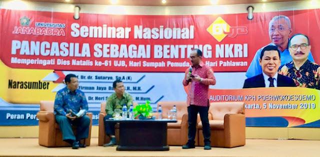 Pancasila Benteng Negara Kesatuan Republik Indonesia