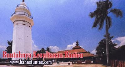 Runtuhnya Kerajaan Banten