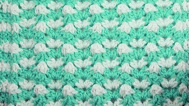 5 - Crochet Imagen Puntada de ondas a crochet y ganchillo por Majovel Crochet