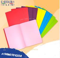 Cartoleria Italiana : vinci gratis uno dei pack di 10 quaderni Fabriano completamente in carta ecologica