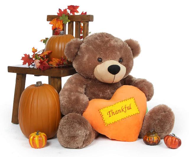 Thanksgiving Teddy Bear gift