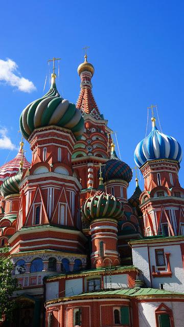 Изображение Храма Василия Блаженного, вид с востока