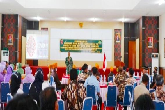 "Kodim 1022/Tanah Bumbu "" Pererat Jalinan Gelar Komunikasi Sosial dengan Keluarga Besar TNI (KBT)"
