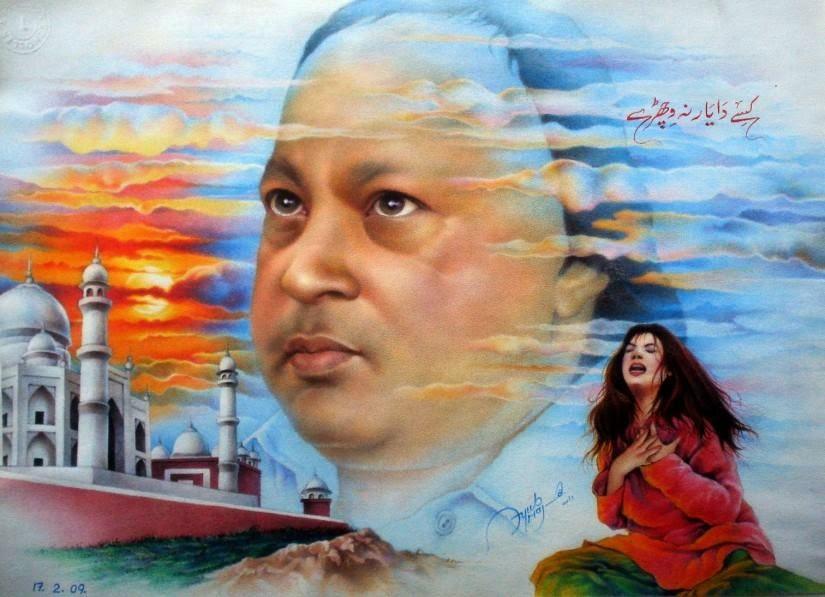 Lyrics Ankhiya Udeek Diya Dil Vaaja Maar Da Ghazal by Nusrat Fateh Ali Khan