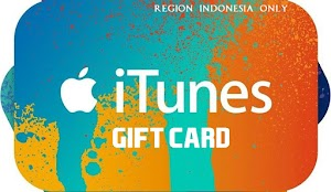 Jual iTunes Gift Card (16 Digit Code) Region Indonesia: 150rb - 1jt