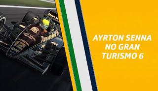 Ayrton Senna no Gran Turismo 6