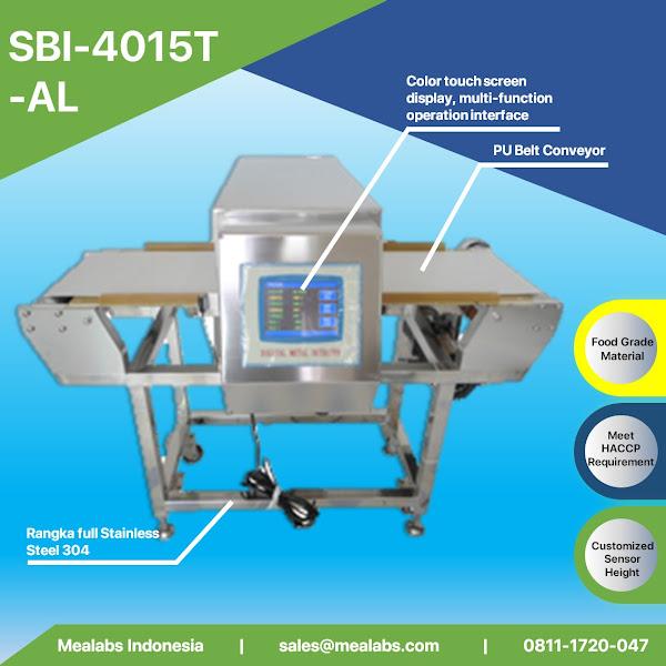 SBI-4015T-AL Aluminium Package Metal Detector