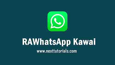 RAWhatsApp Kawaii v8.70 Latest Version Android,Instal Aplikasi RA WA Kawaii Update Terbaru 2021,tema rawa kawaii keren,download wa mod anti banned