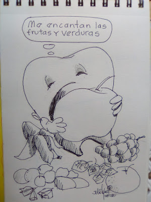 Dibujo de Julio López Carredano