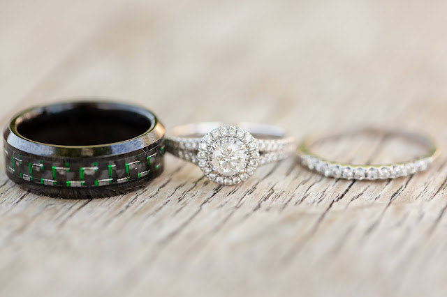 The Cottage Wedding Rings by Micah Carling Photography